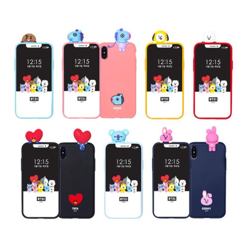 bt21,bbakkom phone case