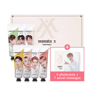 TONYMOLY,MonstaX_I'm_Hand_Cream_Set
