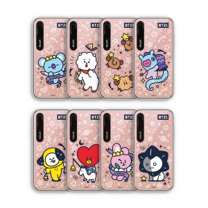 bt21,universtar mirror light up case