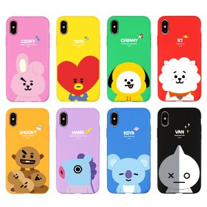 bt21,soft phone case