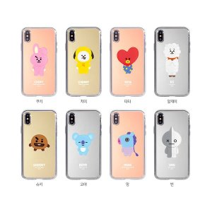 bt21,acrylic mirror phone case