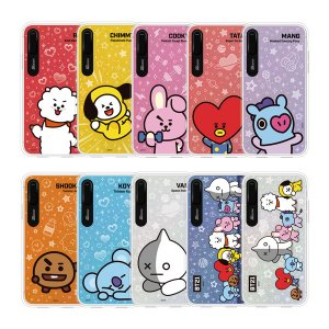 bt21,basic graphic light up phone case