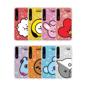 bt21,sneak peek light up phone case,iphone