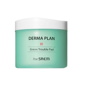 the saem,derma plan green trouble pad
