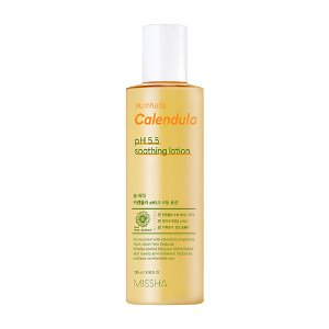 missha,sunhada calendula ph 5.5 soothing lotion